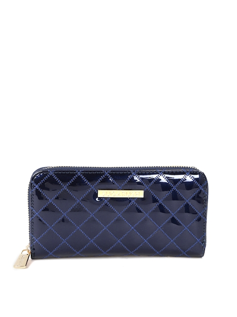 Sugarush Women Navy Quilted Wallet