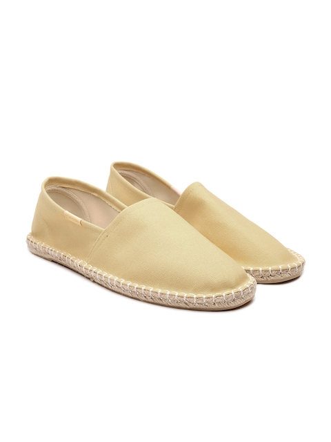 United Colors of Benetton Men Beige Espadrilles