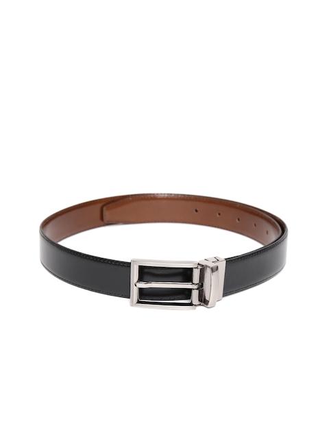 Peter England Statements Men Black & Brown Reversible Leather Belt