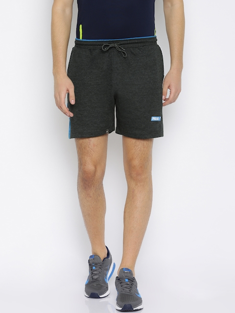 Proline Active Men Charcoal Grey Solid Comfort Fit Sports Shorts  available at myntra for Rs.399