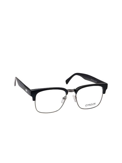 Cardon Unisex Black Browline Frames LCEWCD1126OUP842