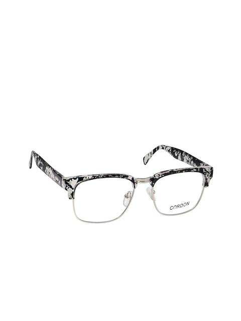 Cardon Unisex Black Printed Browline Frames LCEWCD1127OUP842