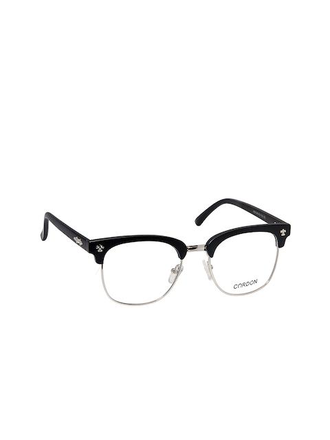 Cardon Unisex Black Browline Frames LCEWCD1130OUP859