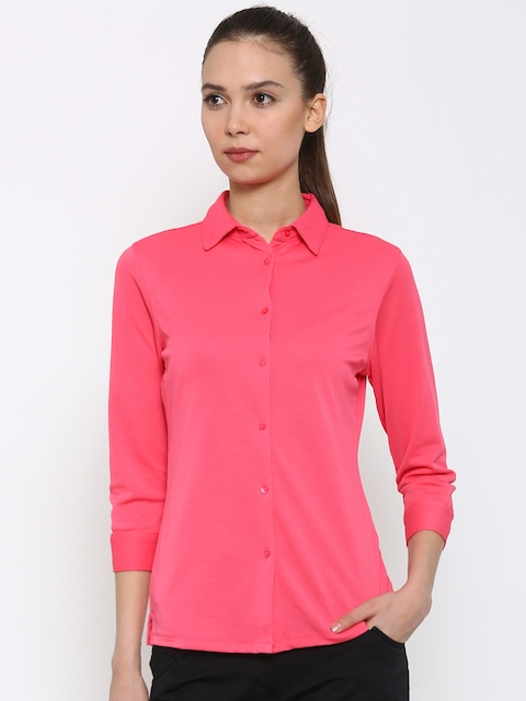 Park Avenue Pink Casual Shirt