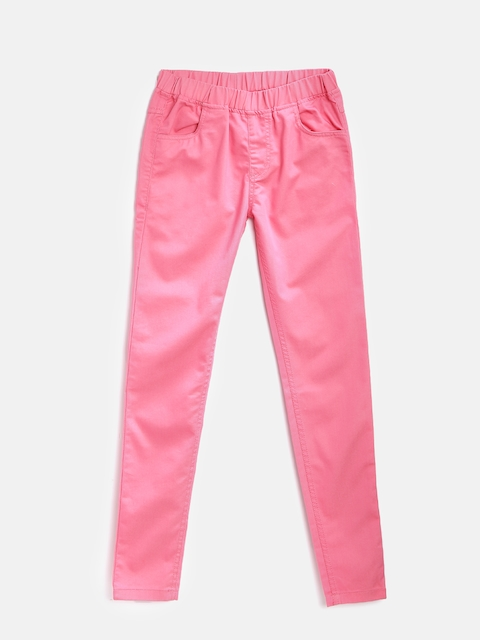612 league Girls Pink Jeggings
