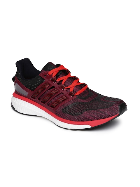 Adidas Men Black ENERGY BOOST 3 Running Shoes