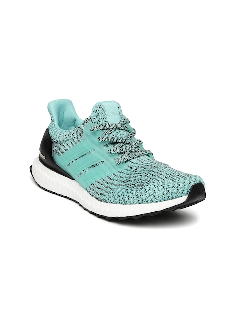 ADIDAS Women Sea Green ULTRABOOST Running Shoes