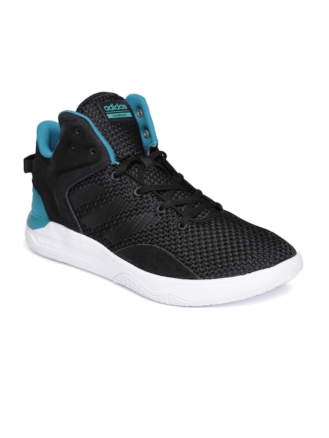 ADIDAS NEO Men Black Cloudfoam Revival Sneakers