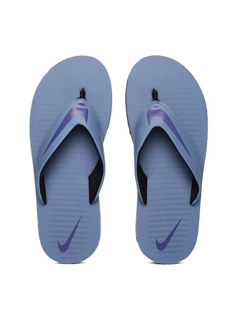 Nike Men Blue Chroma Thong 5 Flip-Flops