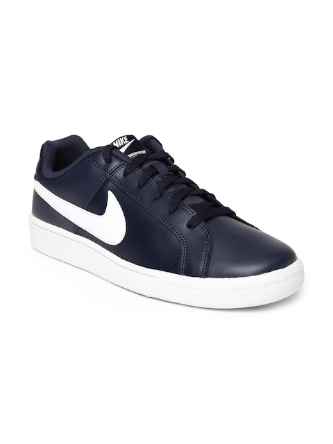 Nike Men Navy Solid Court Royale Sneakers