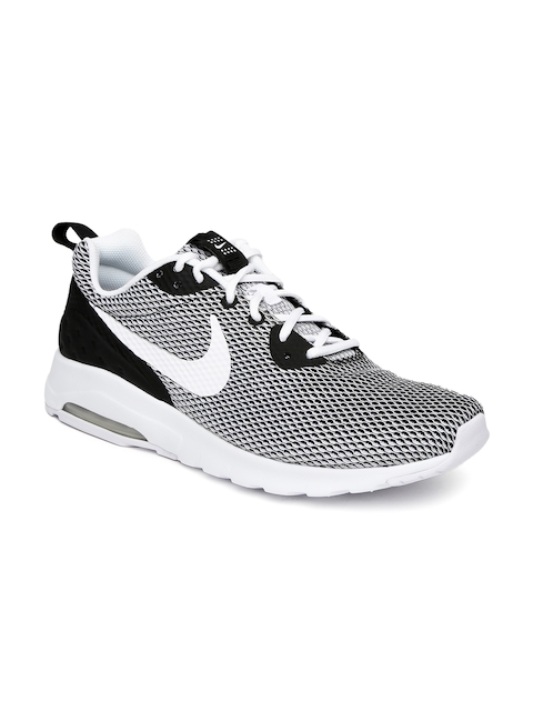 Nike Men Black & White Air Max Motion LW SE Sneakers  available at myntra for Rs.2998