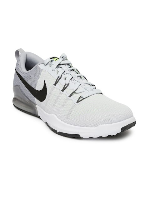 Nike Men White & Grey Zoom Train Action Training Shoes