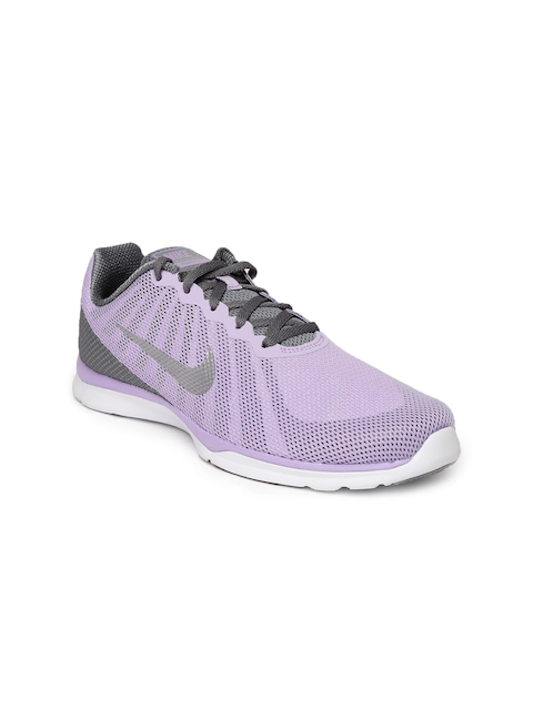 Nike Women Lavender & Grey In-Season TR 6 Training Shoes