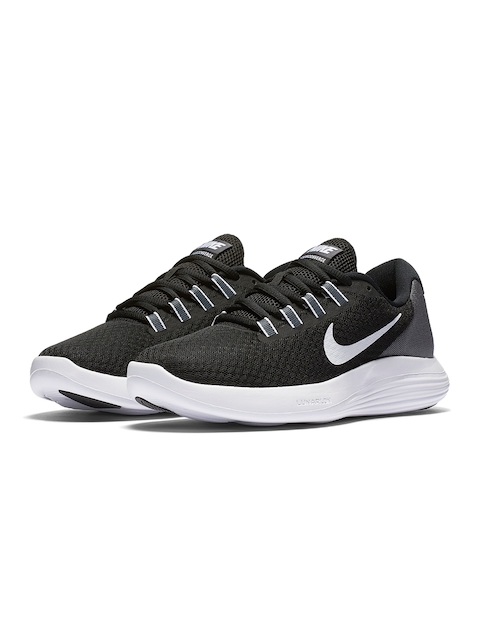 Nike Women Black Lunar Coverage Running Shoes
