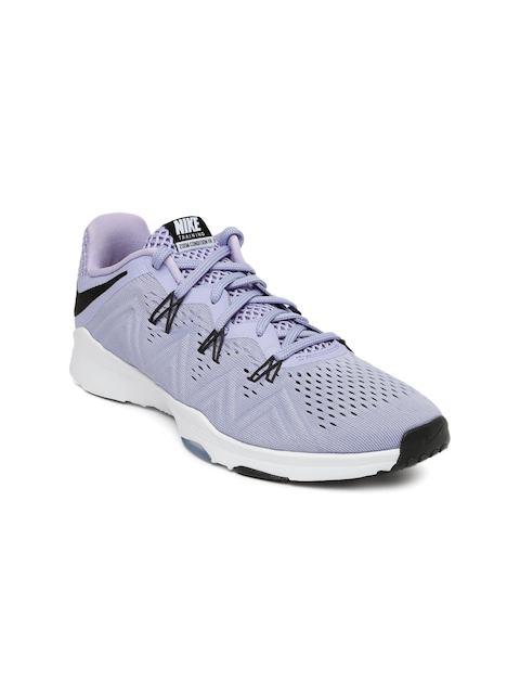 Nike Women Lavender Zoom Condition Training Shoes