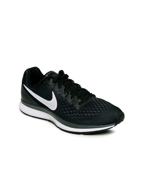 Nike Women Black Air Zoom Pegasus 34 Running Shoes