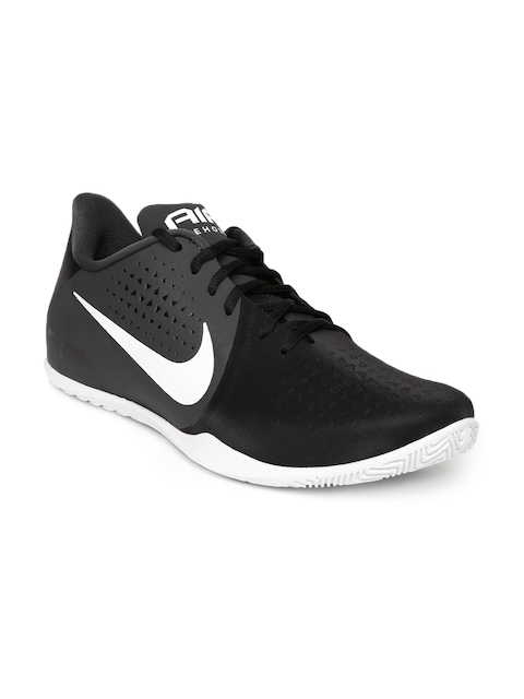 Nike Men Black Air Behold Low Basketball Shoes