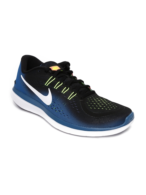 Nike Men Blue & Black Flex 2017 Running Shoes