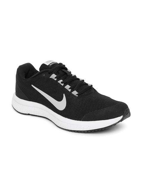 Nike Men Black Run All Day Running Shoes