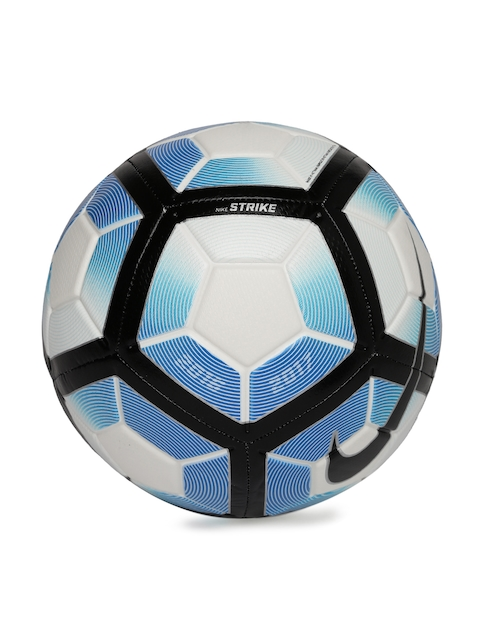 Nike Blue & White Strike NFS Printed Football