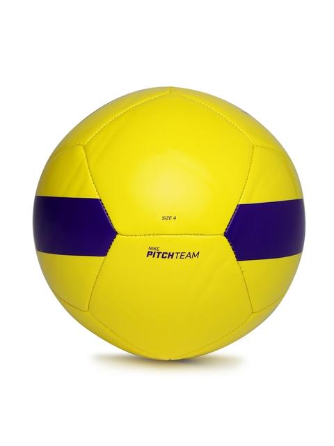 Nike Unisex Yellow Pitch Printed Training Football