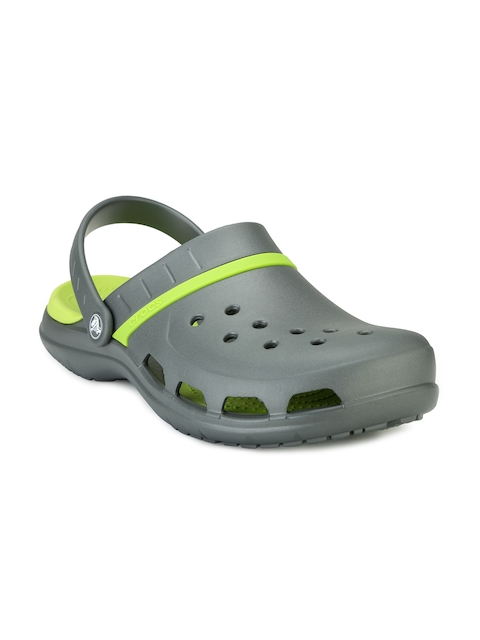 Crocs Men Grey Clogs