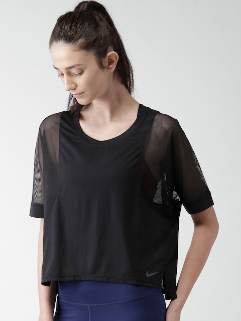 Nike Women Black AS BRTHE SS T-shirt