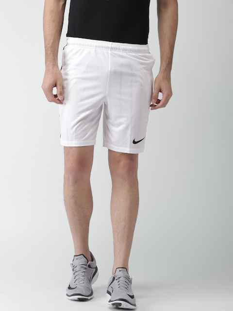 Nike Men White AS SQD JAQ KZ Regular Fit Sports Shorts  available at myntra for Rs.838