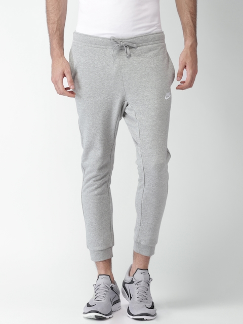 NIKE Grey Melange AS M NSW Standard Fit Track Pants
