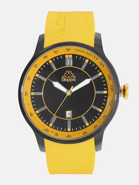 Kappa Men Black Dial Watch KP-1419M-C