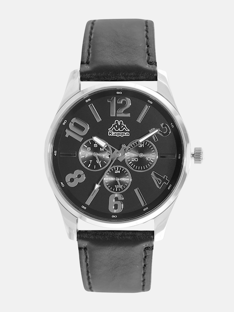Kappa KP-1420M-A Black Dial Analog Men's Watch (KP-1420M-A)