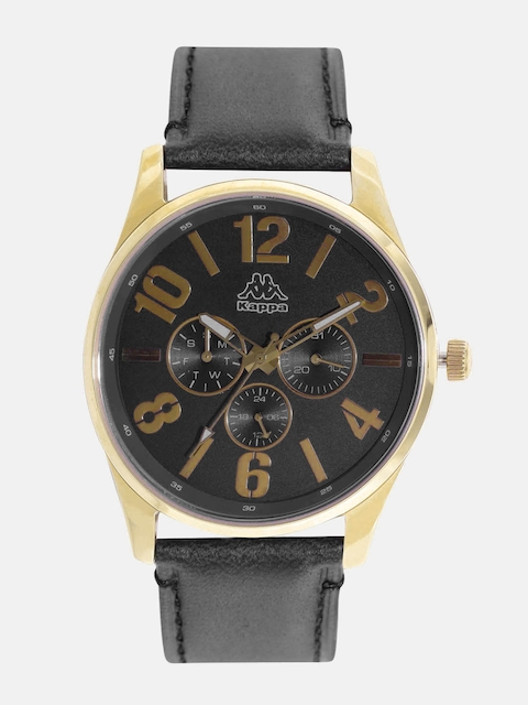 Kappa KP-1420M-C Black Dial Analog Men's Watch (KP-1420M-C)