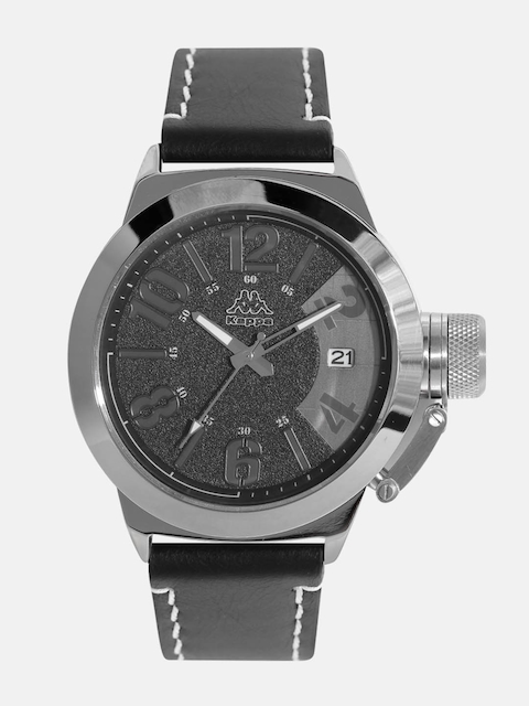 Kappa KP-1421M-A Gunmetal Dial Analog Men's Watch (KP-1421M-A)