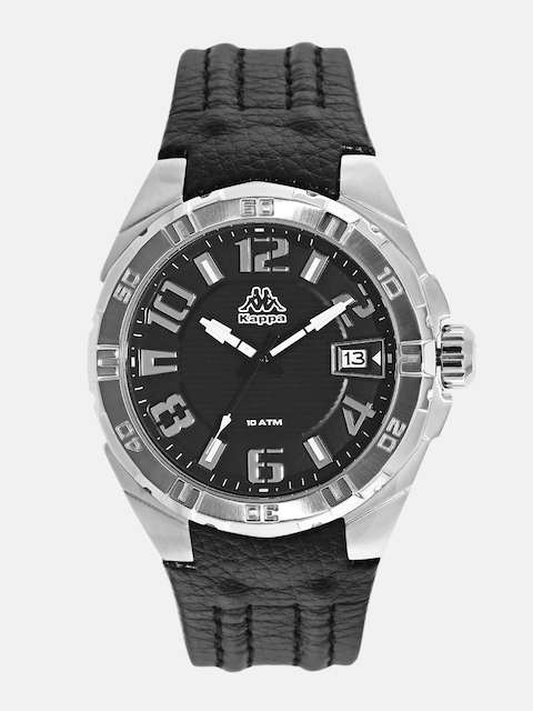 Kappa KP-1426M-F Black Dial Analog Men's Watch (KP-1426M-F)