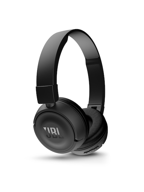 JBL Black Wireless Bluetooth Headphones T450BT