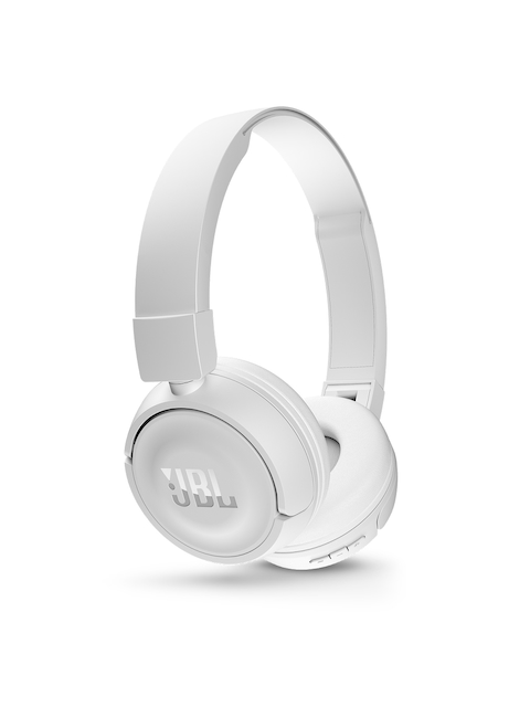 JBL White Wireless Bluetooth Headphones T450BT