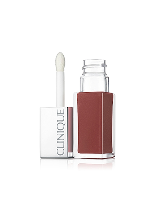 Clinique Cocoa Pop Lacquer Lip Colour + Primer