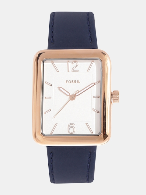 Fossil Women Gold-Toned Analogue Watch ES4158