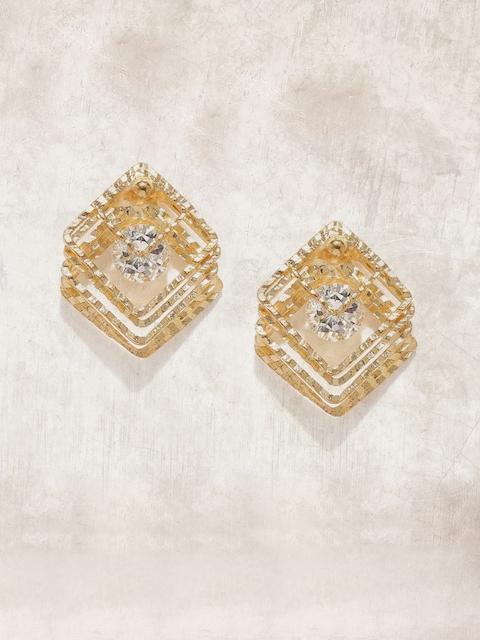 Anouk Gold-Toned Geometric Studs