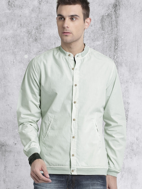 Roadster Men Grey Solid Casual Shirt