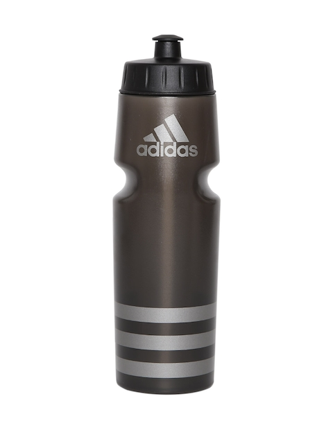 Adidas Unisex Black PERF Striped Water Bottle