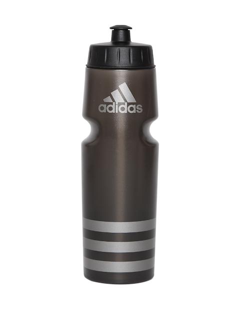 Adidas Unisex Black PERF Striped Water Bottle