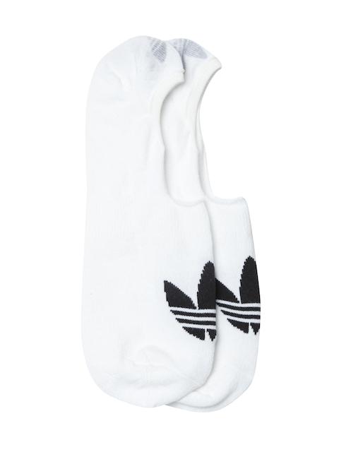 Adidas Originals Unisex White Low Cut Shoe Liners