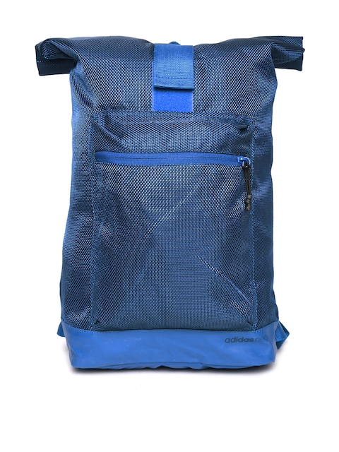 ADIDAS NEO Men Blue City Patterned Backpack