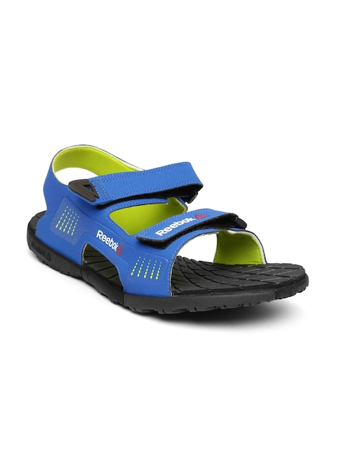 Reebok Men Blue Chrome Rider Sports Sandals  available at myntra for Rs.1199