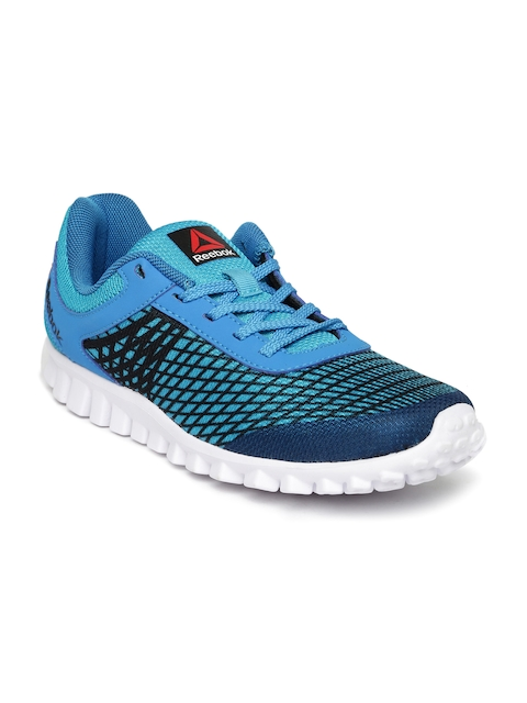 Reebok Boys Blue Run Escape Running Shoes  available at myntra for Rs.1399