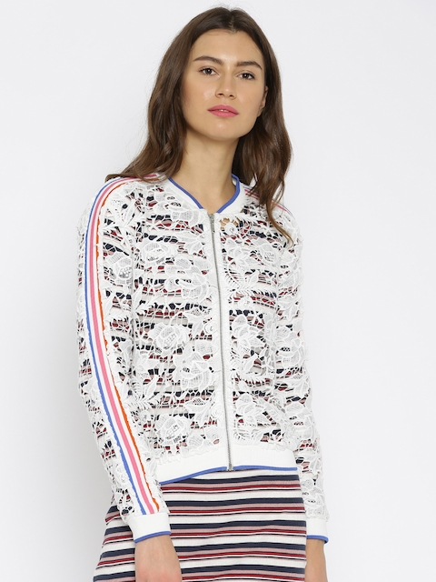 ONLY White Lace Jacket