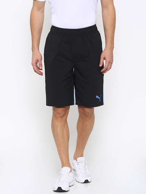 Puma Men Black Style Summer Multi Stretch Regular Fit Sports Shorts