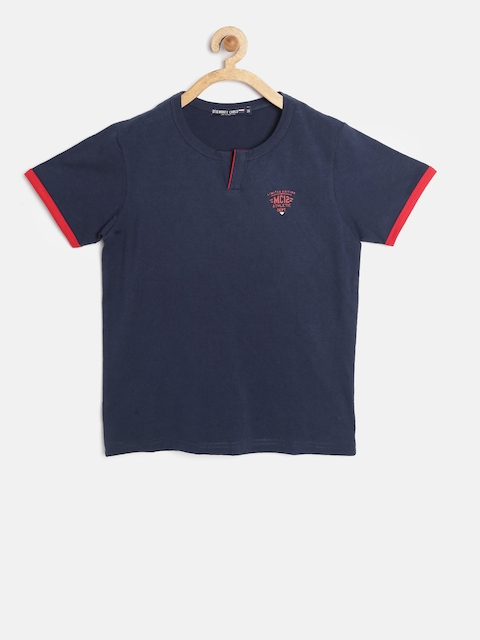 Tweens by Monte Carlo Boys Navy Round Neck T-shirt
