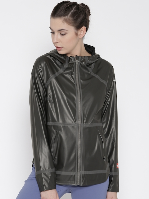 Columbia Charcoal Grey & Black OutDry Ex Reversible Outdoor Rain Jacket